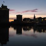 Dusk  -  Crépuscule  - Vieux port La Rochelle