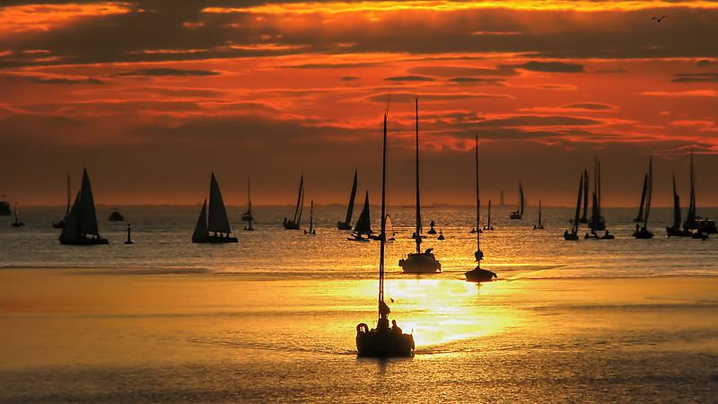 Golden Sunset  -   La Rochelle