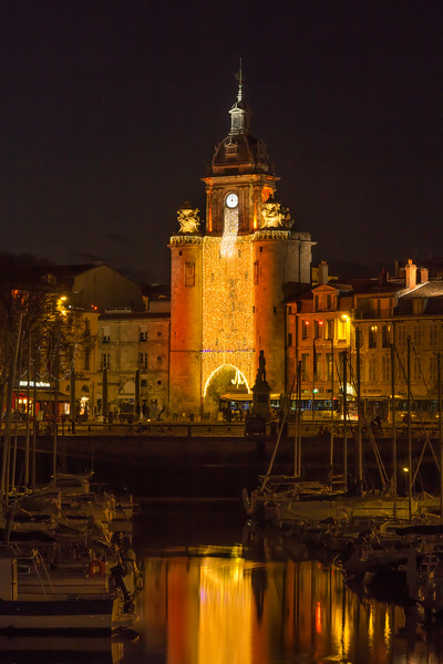 La Grosse Horloge  -  The Big Clock  -  La Rochelle
