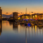 Dusk  -  La Rochelle