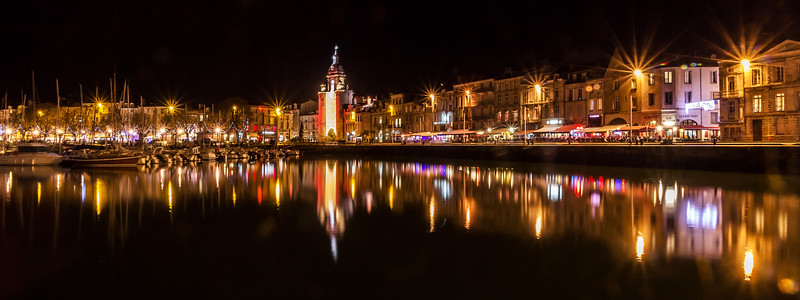 Night  -  La Rochelle