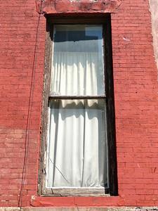 Sash window of same house.
