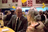 Br. Al Kinzig talks to Mrs. Cullinan (aka Mom).