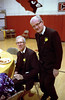 Br. Ed Dwyer (left) and Br. Jim Perry.