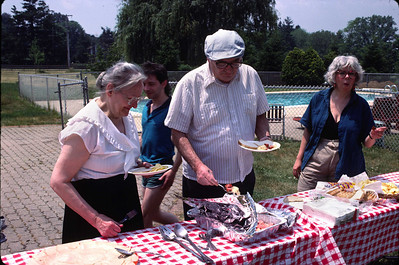 Picnic at Lincroft, NJ, June 18, 1988.