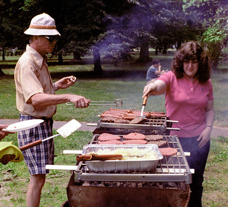 Picnic at Oakdale, June 1983.