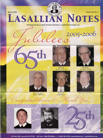 La Sallian Notes Spring 2006