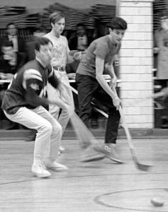 #16. January - Faculty-senior hockey.