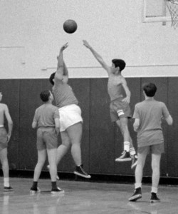 #32. October -- Intramural basketball.