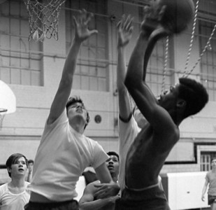 #53. March 10 -- Intramural basketball.