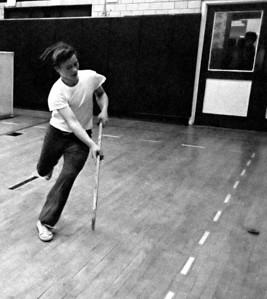#01. January 18 -- Intramural hockey.