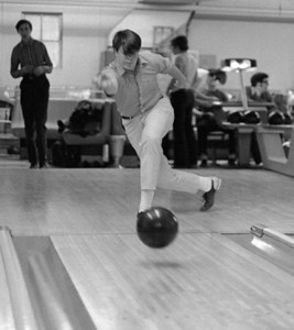 #13. January -- Bowling with Bro Henry Cullen.