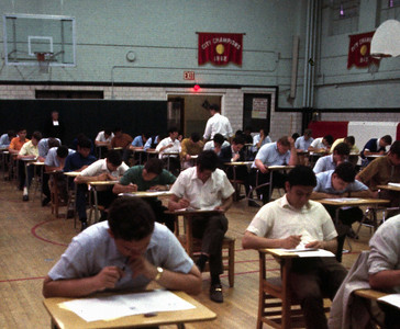 Final exam time, 1969