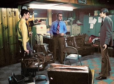 Mr. Moore (left), Mr. Beyer, Mr. Burns