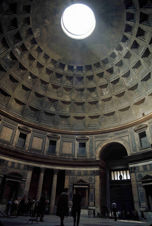 Rome - the Pantheon, Hadrian's tomb, Trajan's column, the Forum