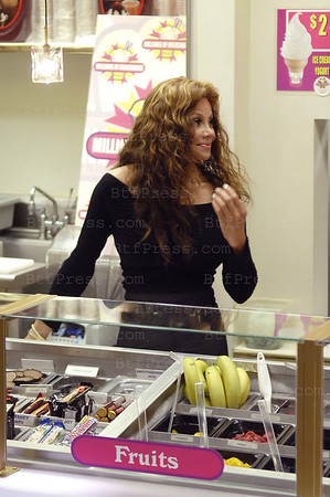La Toya Jackson launch her Shake ay Millions of Milkshakes in West Hollywood California.