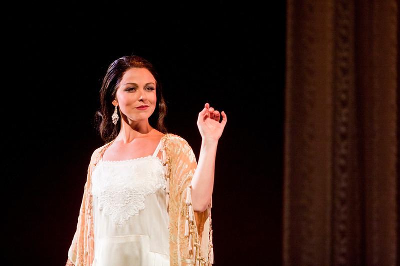 Soprano Corinne Winters is Violetta Valéry in San Diego Opera's LA TRAVIATA. April, 2017. Photo by J. Katarzyna Woronowicz Johnson.