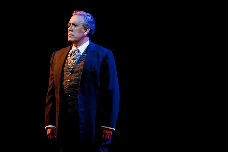 Baritone Stephen Powell is Giorgio Germont in San Diego Opera's LA TRAVIATA. April, 2017. Photo by J. Katarzyna Woronowicz Johnson.