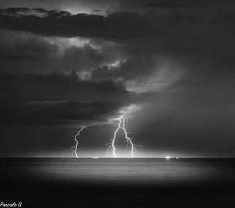 Storm in B&W