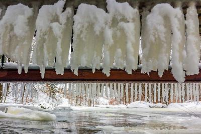 Ruisseau Beaver Pond, Bromont (Qc)