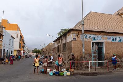 Mercadillo callejero, Mindelo, Sao Vicente (Cabo Verde)