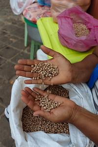 Vendedora de legumbres. Mindelo, Sao Vicente (Cabo Verde)