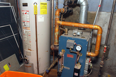HW heater, boiler