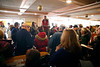 HOLLY PELCZYNSKI - BENNINGTON BANNER Bidders fill LaFlammes furniture store hoping to catch a deal on furniture and household items during the LaFlammes bankruptcy auction held on Saturday in Bennington.