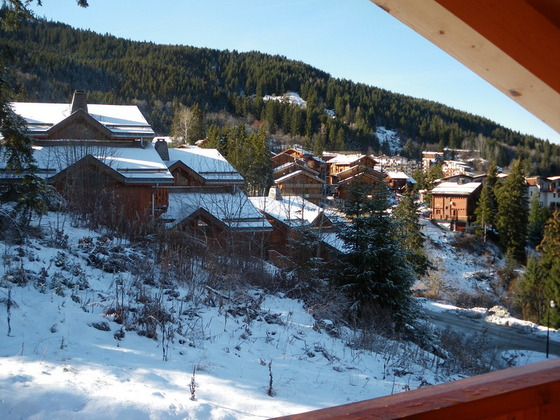 the other ski beat chalets were within snowball throwing distance
