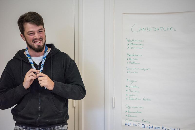 YouYou (Matthieu) se présente comme Sécretaire de LTS