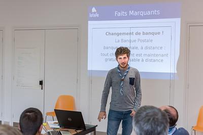 Rapport Financier par Charles (Trésorier)