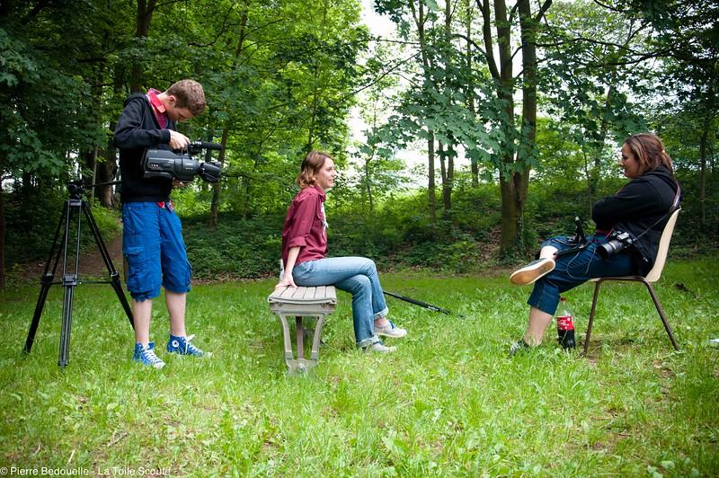 Interview d'Elsa, la Présidente des EEUDF, par La Toile Scoute