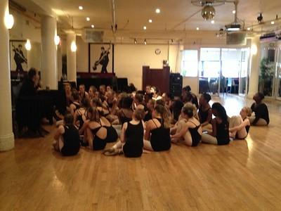 NY 2013 Rockette Master class 2