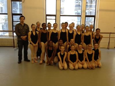 NY 2013 Rockette Master Class