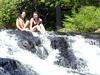 Marie-Claire & Irina<br /> Wabenaki Pain Lab Retreat, August, 2004