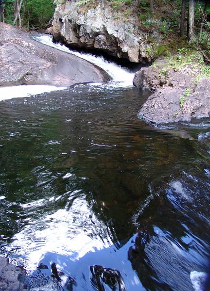 Stream and pools near Wabenaki<br /> 2004