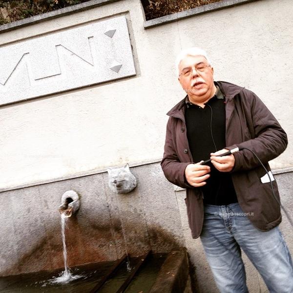 """#exploreCamandona alla fontana del lupo di #Camandona il """"Lamun"""" dove si vide bere l'ultimo lupo avvistato a #Camandona #explorebiella"""