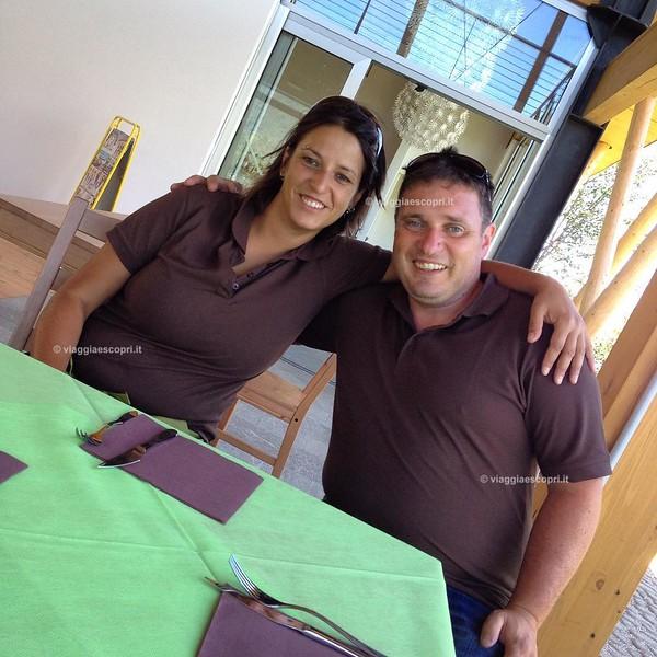 #LMZipLine ci presenta Cristina e Angelo, gestori del Bar Ristorante La Batua'che si trova nella struttura in legno della ZipLine!