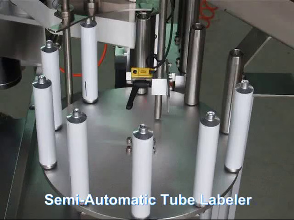 Tube Labeler Semi Automatic