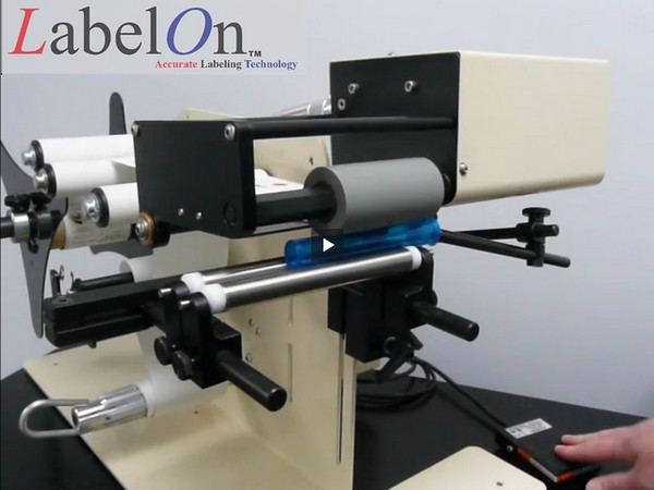 LabelOn™ Benchtop for Round Products – Upgraded Roller Drive 02