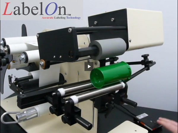 LabelOn™ Benchtop for Round Products – Upgraded Roller Drive Cartridge  01