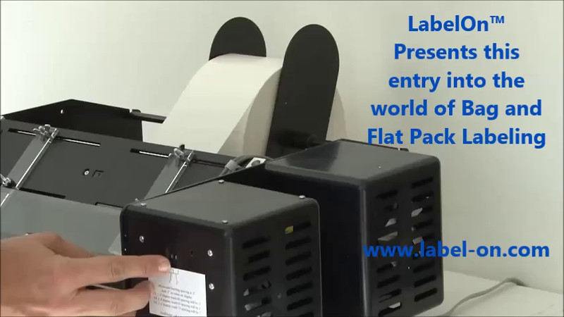 LabelOn™ Precursor - Flat Bag and Product Labeling From Beneath
