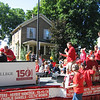 North Central College float