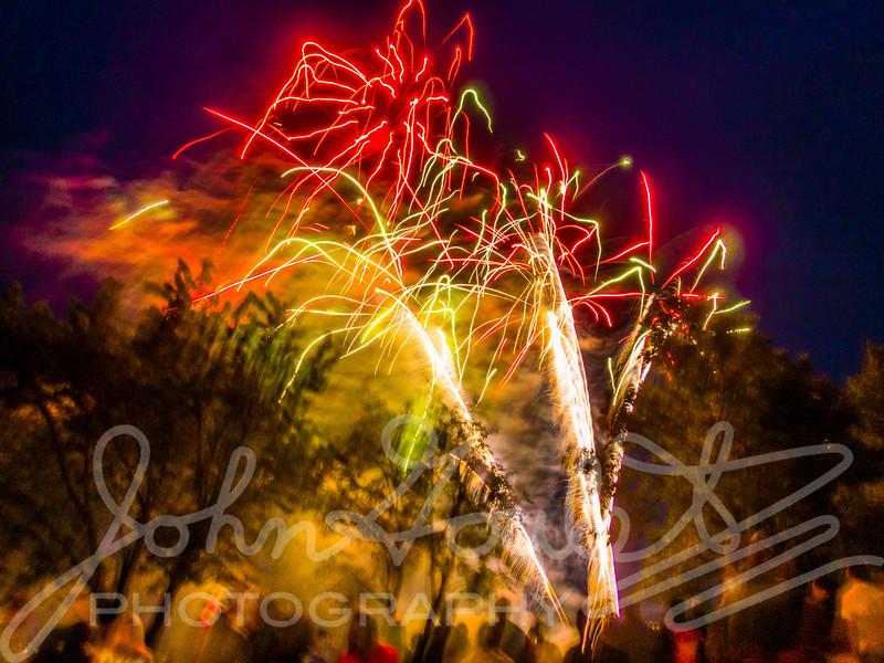Lac du Bonnet Canada Day Fireworks 2018
