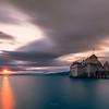 Chillon sunset