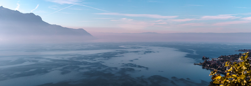 Lac Léman, Montreux