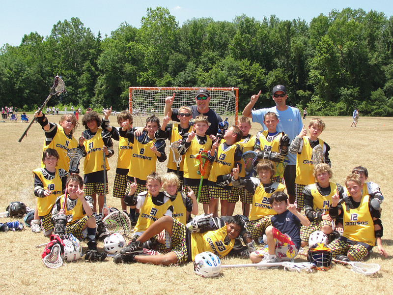 Calvert Cannons Select Lacrosse Team<br /> Lax Heroes U11 Tournament Champions