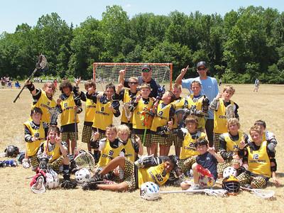 Calvert Cannons Select Lacrosse Team Lax Heroes U11 Tournament Champions