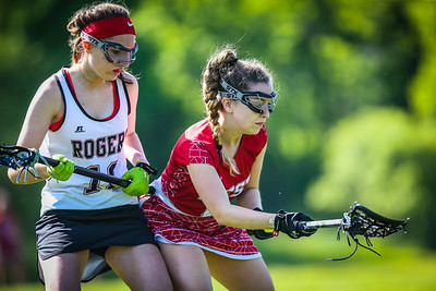 Rogers vs Cranston West Lacrosse Girls 5.30.18