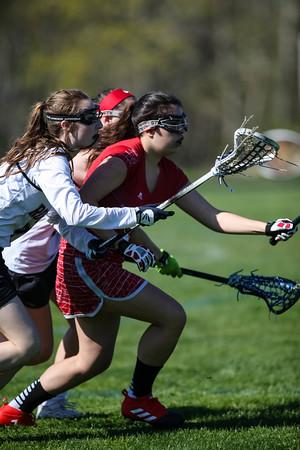 Rogers vs Cranston West Lacrosse Girls 5.8.18